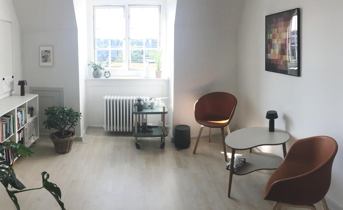eksamensangst lavt selvværd psykolog på Diakonissestiftelsen Frederiksberg København